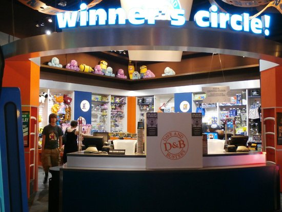 Dave and busters oklahoma