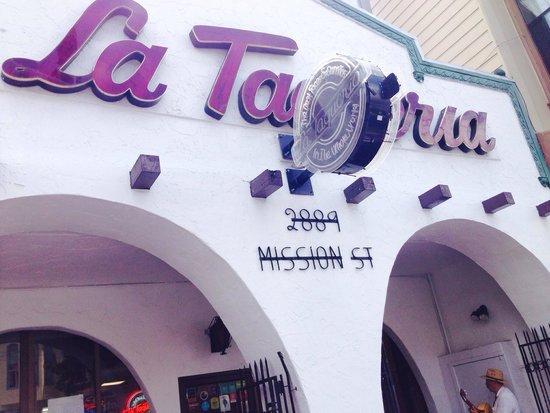 La Taqueria : Esterno