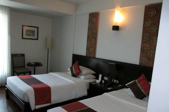 Tara Angkor Hotel: Our room on third floor