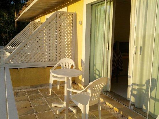 Hotel Pousada e Spa Villa Mercedes: Varanda
