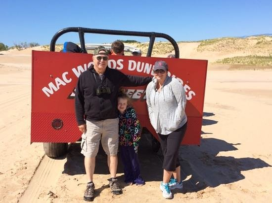 Mac Wood's Dune Rides : a wonderful trip!!