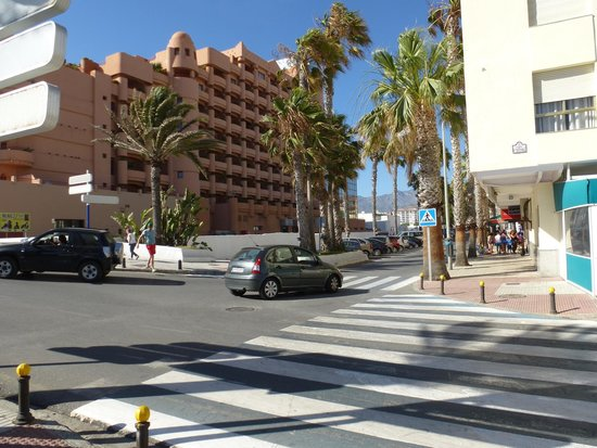 Almunecar Playa Spa Hotel : TAKE THIS ROAD TO GO BACK TO MALAGA OR ALMERIA
