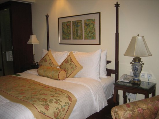 Indochine Palace: Nuestra habitación en la planta 9