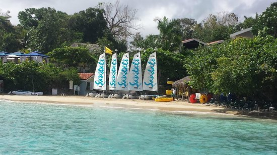 Sandals Ochi Beach Resort : Water sports area