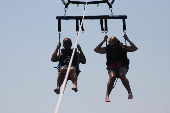 Palms of Treasure Island: must go parasailing
