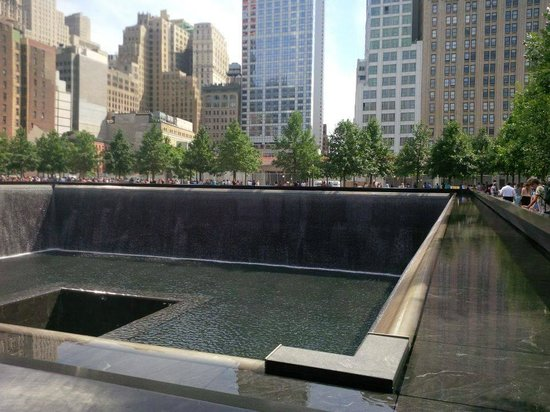 The National 9/11 Memorial & Museum: Tower Base and Water Pool