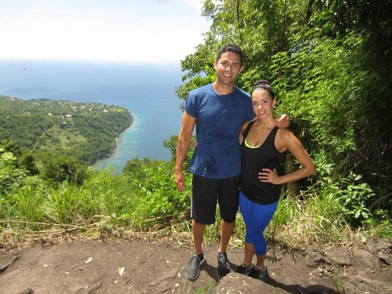 Real St. Lucia Tours : Climbing the Gros Piton!