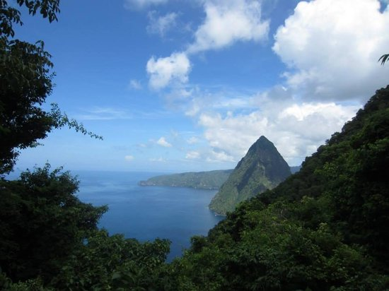 Real St. Lucia Tours : Half way point