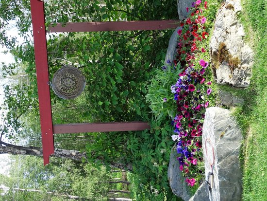 Alaska Sundance Retreat Bed and Breakfast, LLC: The Garden