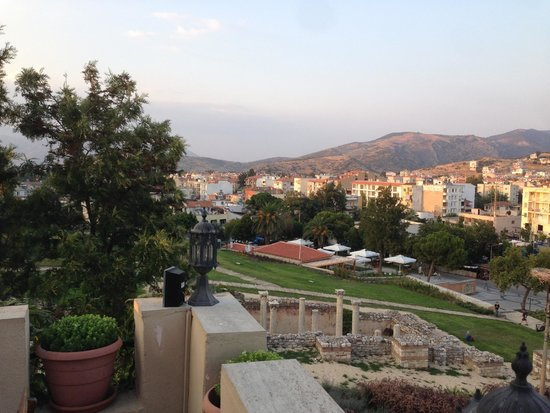Hotel Bella: View from the Rooftop of the City of Selcuk