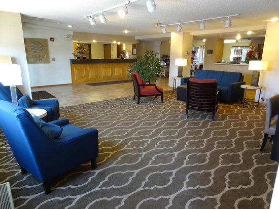 Comfort Inn: Main reception, very roomy