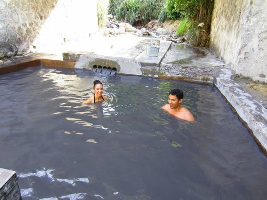 Real St. Lucia Tours : Hot springs