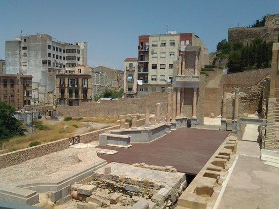 Teatro Romano: vista desde el interior