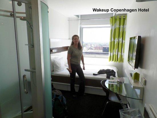 Wakeup Copenhagen Carsten Niebuhrs Gade : upgraded room