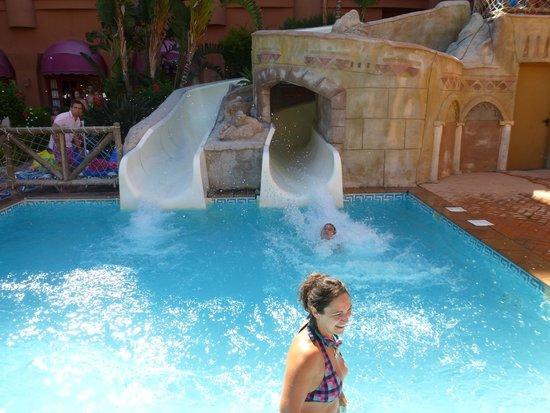 Almunecar Playa Spa Hotel: WATER SLIDES