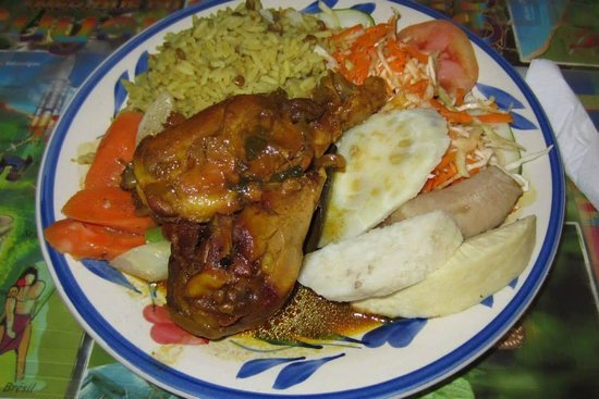 Real St. Lucia Tours : Delicious authentic food