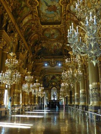Opéra Garnier : The ballroom will take your breath away!