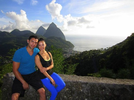Real St. Lucia Tours : The Pitons