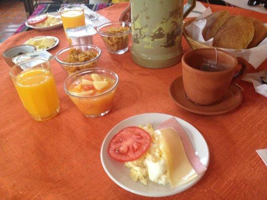Hotel Utama : Desayuno