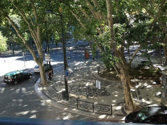 Heritage Avenida Liberdade : View of Av Liberdade from our room