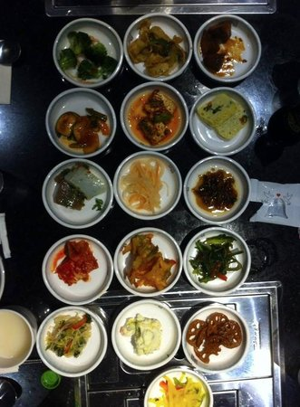 Seoul BBQ & Sushi: the appatizers
