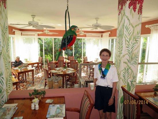 Royal Palms Hotel: Breakfast Room