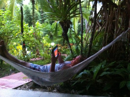 Falls Resort at Manuel Antonio: bungalow hammock!