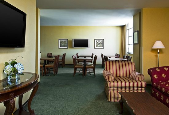 St. Louis City Center Hotel: Sheraton Club Lounge
