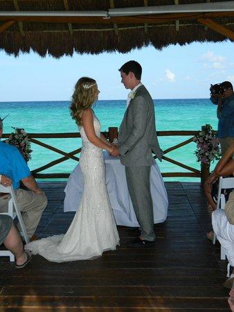 The Fives Azul Beach Resort Playa Del Carmen Wedding On Pier