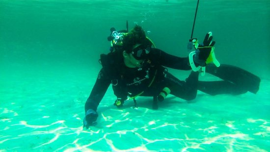 ScubaTech: Rabi, our instructor.