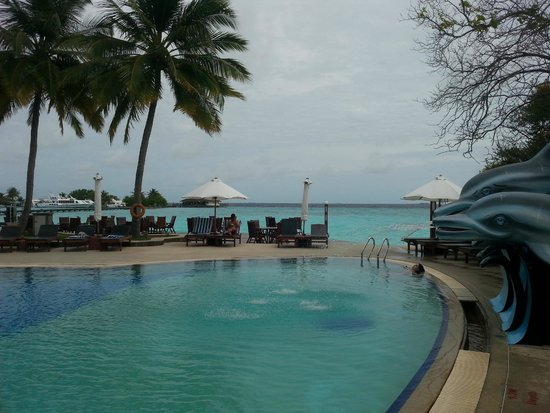 Paradise Island Resort & Spa: pool side