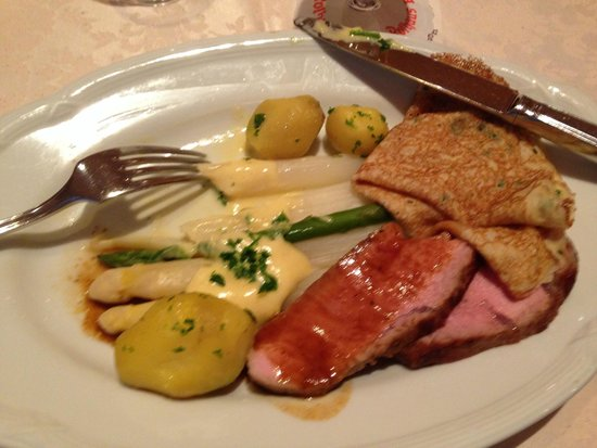 Hotel Thum: Wonderful traditional German fare!