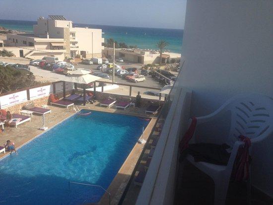 Maysi Hostal: Vista piscina