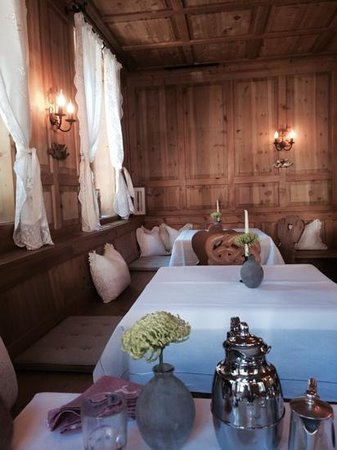 Himmlhof: une salle petit dejeuner