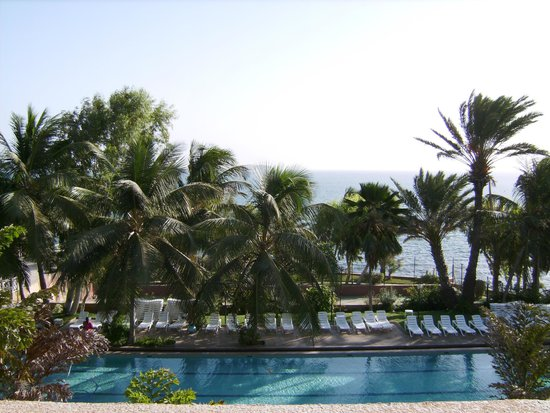 Savana Jardin-Hotel Dakar : Vue de la chambre