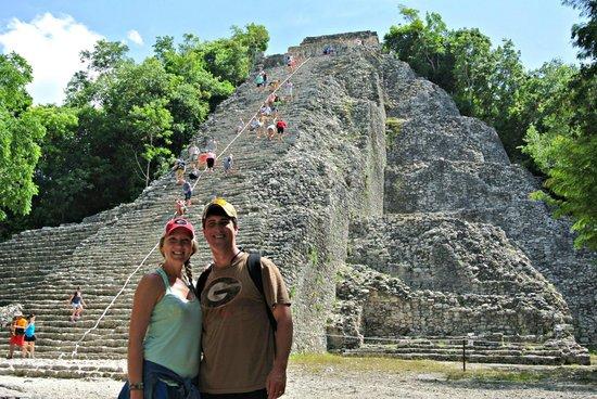 Coba Mayan Traditions: Ixmoja Pyramid