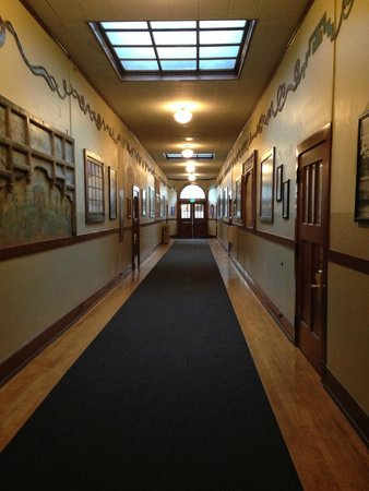 McMenamins Kennedy School: Hallway at Kennedy School