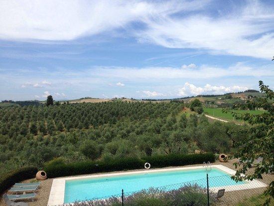 Torre di Ponzano - Chianti area - Tuscany -: Piscina