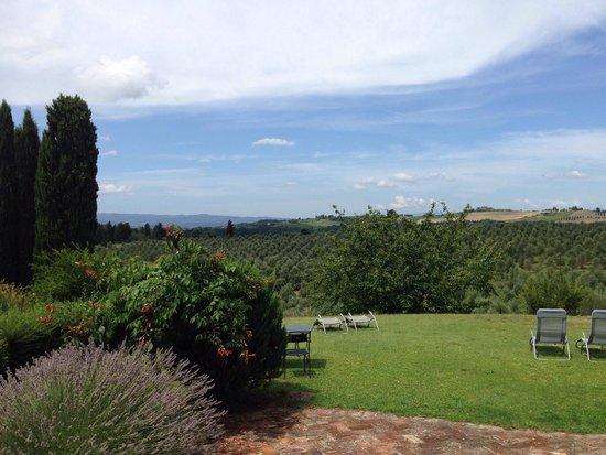 Torre di Ponzano - Chianti area - Tuscany -: Giardino