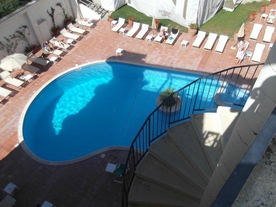 Tui Sensimar Atlantic Palace : Pool viewed from roof terrace