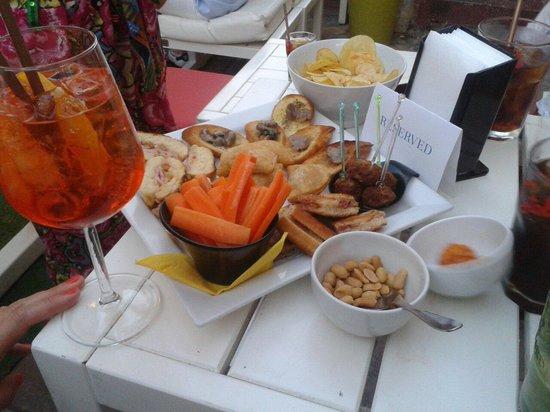 Daiquiri Lounge: Stuzzichini