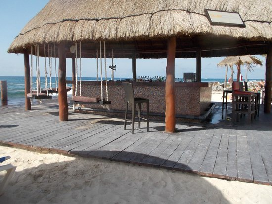 Dreams Puerto Aventuras Resort & Spa: Bar swing