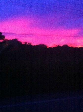 Playa Manuel Antonio: beautiful sunset