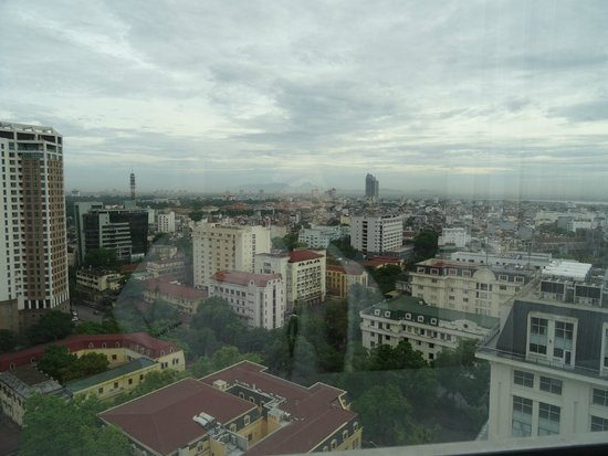 Melia Hanoi : View from 18th floor.