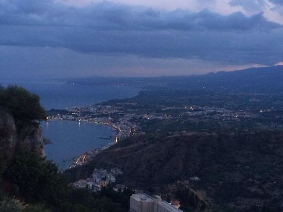 Al Saraceno: vue de la terrasse