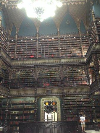 Real Gabinete Portugues Da Leitura : biblioteca