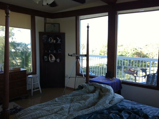 Bimini Magical Vacation B & B : View from the bedroom