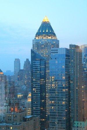 Hilton Times Square: Ausblick vom Zimmer