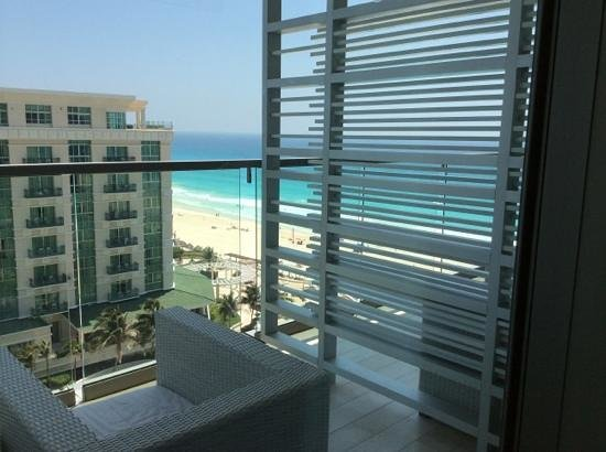 Secrets The Vine Cancun: on the balcony the deluxe ocean view rm 1614
