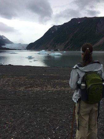 Kachemak Bay Wilderness Lodge: Glacier lake view